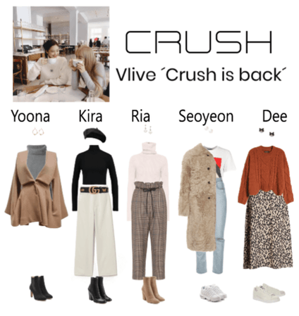 vlive ´crush is back´