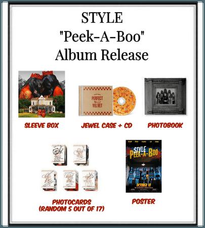 "STYLE ""Peek-A-Boo"" Album Release"