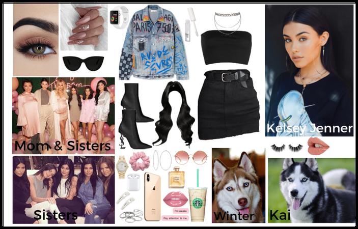 Kelsey Jenner/Apart of the Kardashian/Jenner Clan