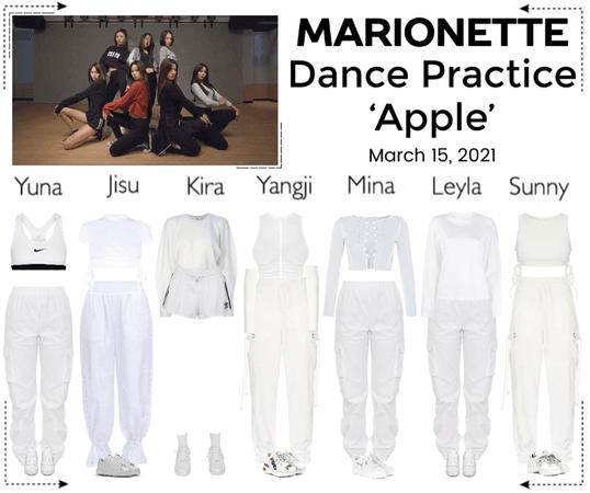 마리오네트 (MARIONETTE) - 'Apple' Dance Practice