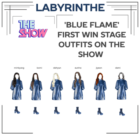 LABYRINTHE BLUE FLAME FIRST WIN STAGE