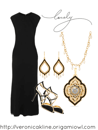 Moroccan Inspired Dress Outfit
