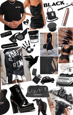 everything black