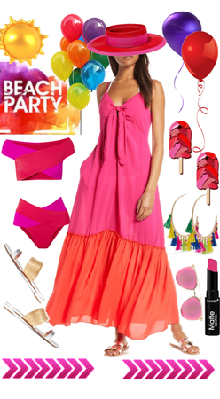 Colorful Beach Party