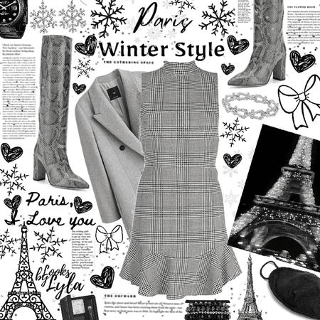 Winter in Paris #1 Collab with @aria29