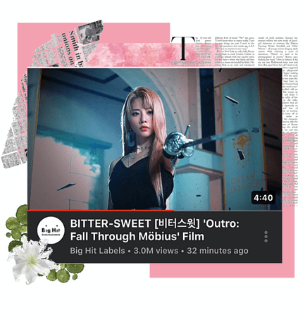 BITTER-SWEET [비터스윗] 'Outro: Fall Through MÖBIUS' Film