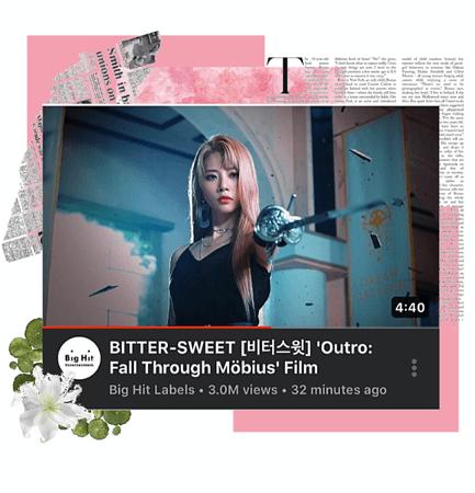 BITTER-SWEET [비터스윗] 'Outro: Fall Through MÖBIUS' Film
