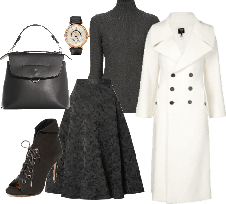 Winter Weekday Glam