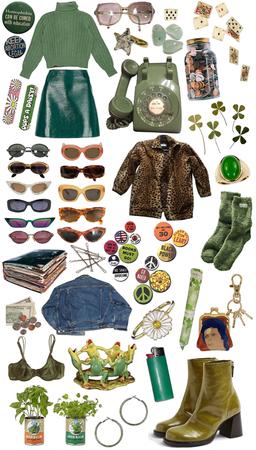 Green Vintage Vibes