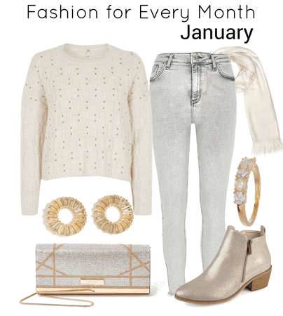 Fashion for every month-January