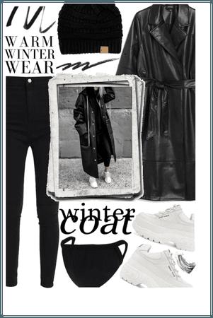 WINTER COAT: Black to Basics 🖤