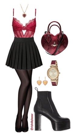 Romantic Date Valentine's Day Outfit