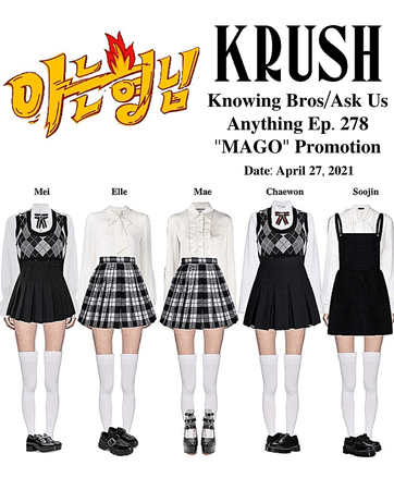 KRUSH Knowing Bros/Ask Us Anything Ep. 278 MAGO Promotion