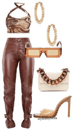 Leather pants fit