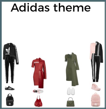Adidas theme by Giada Orlando 2019