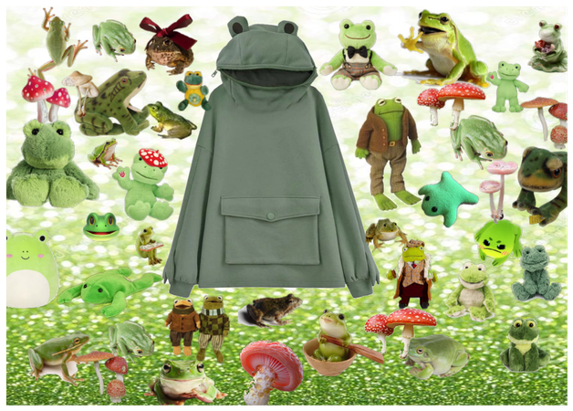 frogs and mushrooms