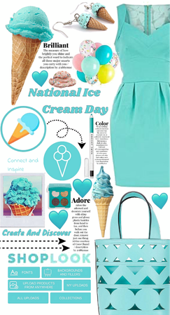 Shoplook Ice cream day