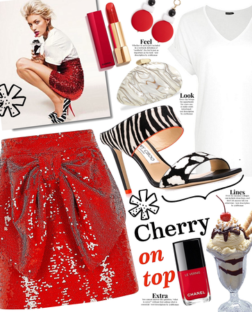 cherry on top | @looksbylyla contest