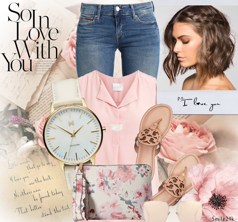 Summer Casual: Soft Pink