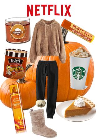 pumpkin spice movie night