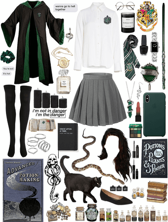 Slytherin  🐍💚