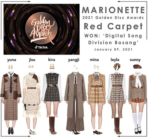 마리오네트 (𝗠𝗔𝗥𝗜𝗢𝗡𝗘𝗧𝗧𝗘) - [DAY 1] 2021 Golden Disc Awards | Red Carpet