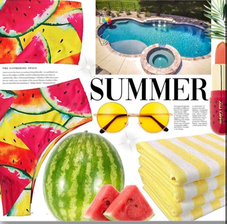 Watermelon. 🍉🏝👙