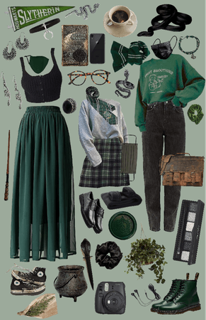 My Slytherin Aesthetic