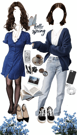 Ravenclaw spring outfits