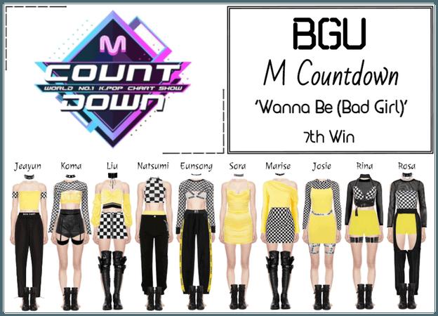 BGU M Countdown 'Wanna Be (Bad Girl)'