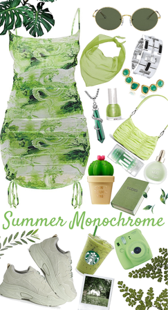 Green Monochrome
