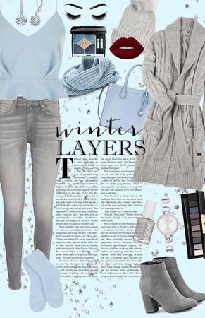 Winter Layers - January Blues