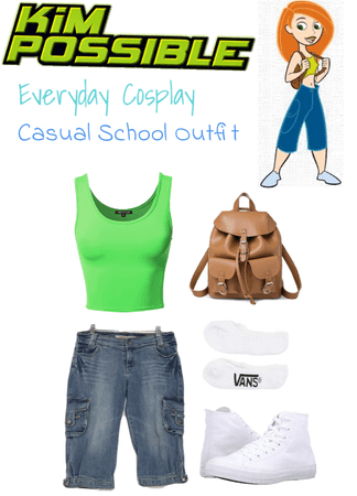 Kim Possible: Casual School Outfit