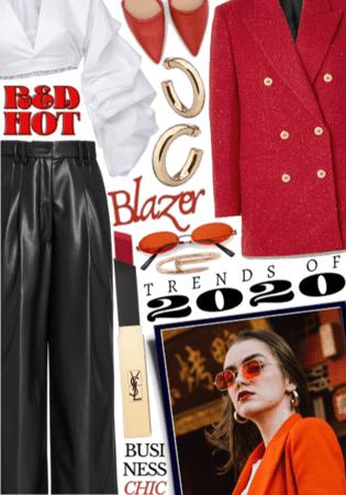 2020 TRENDS: Bold Blazer