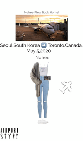 Nahee Flew Back Home