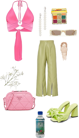 💕pink💕 and 💚green💚