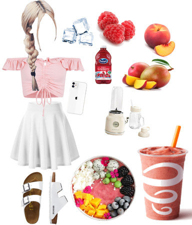 smoothie outfit