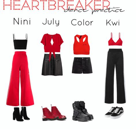 Heartbreaker||Dance Practice outfits||[4est]•