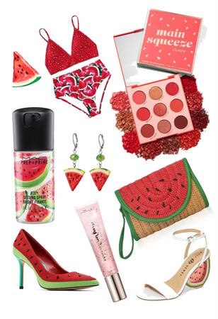 watermelon fashion and beauty picks!!