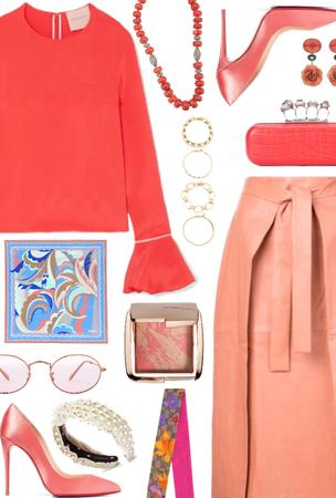 Pantone Color: Coral