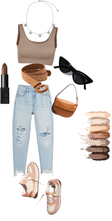 Brown outfit for everyday