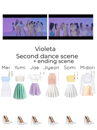 Violeta- second dance and ending scene