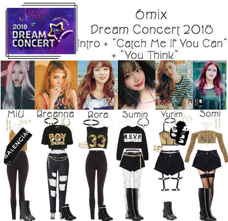《6mix》Dream Concert 2018