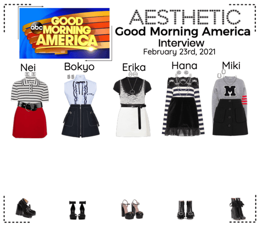 AESTHETIC (미적) [GOOD MORNING AMERICA] Interview