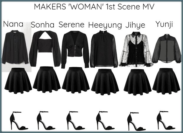 MAKERS 'WOMAN' MV 1st Scene