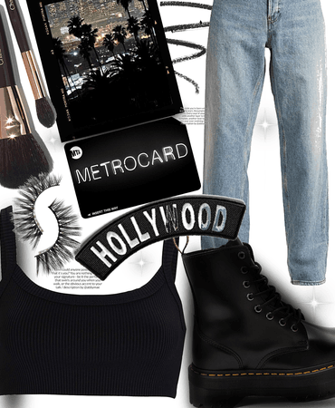 Hollywood chic