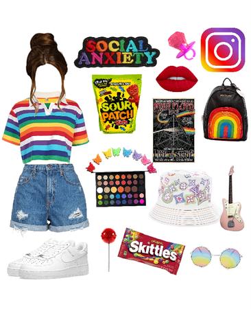 rainbowcore aesthetic