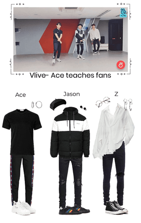 Vlive- Ace teaches fans