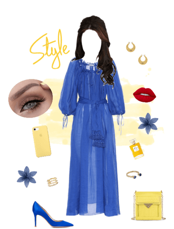 blue glam