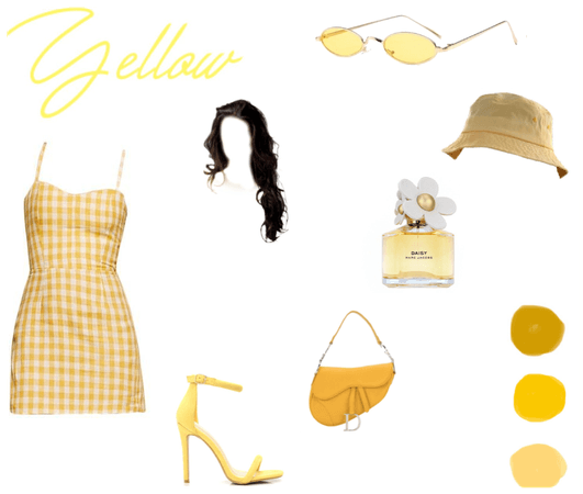 Yellow Monochrome challenge